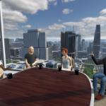 Virtual XR VR Business Meetings