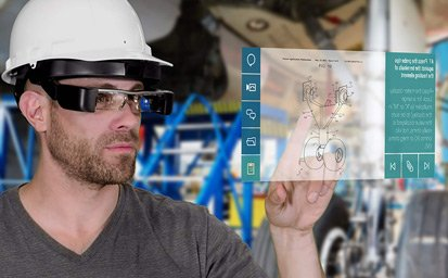 assisted reality devices for PPE